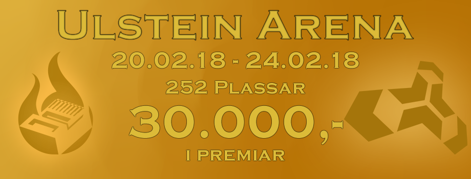 UlsteinLAN - Genesis @ Ulstein Arena